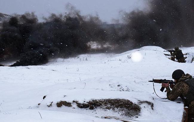 За прошлые сутки в зоне АТО погиб один украинский военный