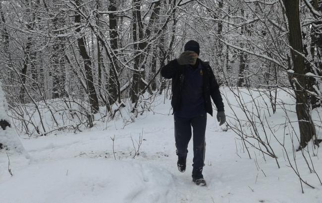 """""""И никто не остановился"""": киевлянка заметила в столичном парке преступников с бензопилой"""