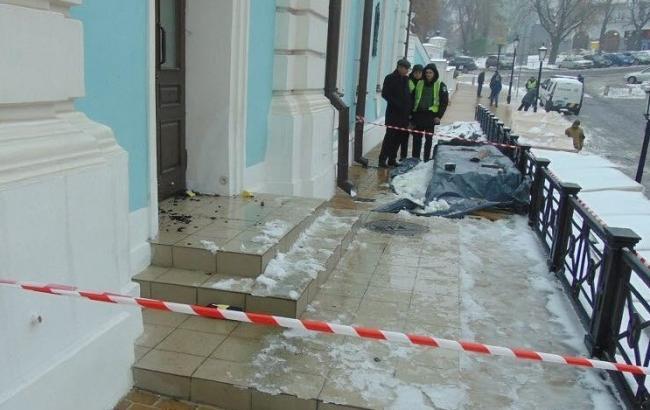 Полиция задержала подозреваемого в поджоге Андреевской церкви