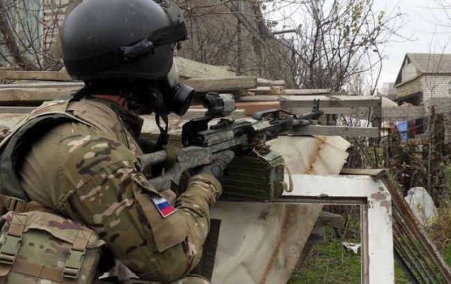 Фото: российский спецназовец в Дагестане