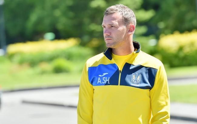 Головний тренер збірної України Шевченко продовжив контракт до 2020 року