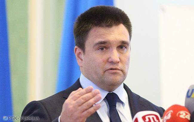 """Клімкін: Росію чекає посилення міжнародних санкцій за """"вибори"""" в ОРДЛО"""