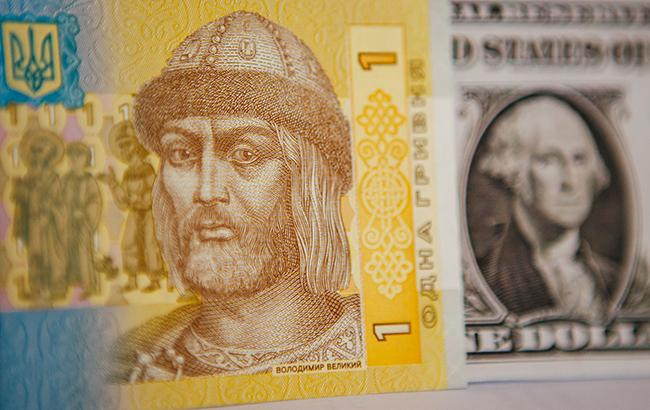 Курс доллара на межбанке снизился до 27,95 грн/доллар