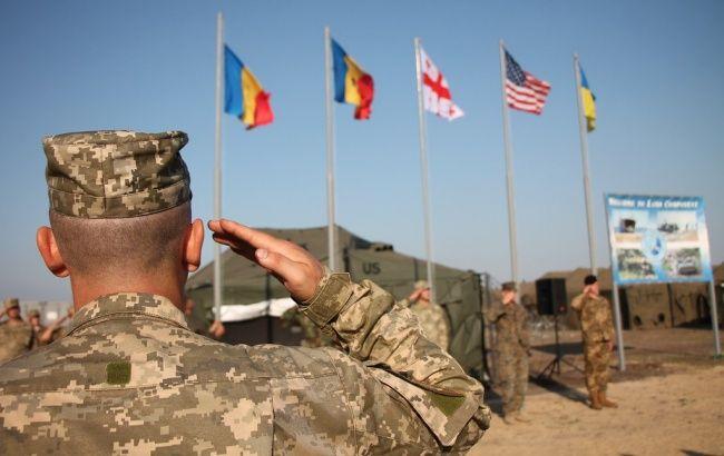 В Украине перенесли многонациональные военные учения