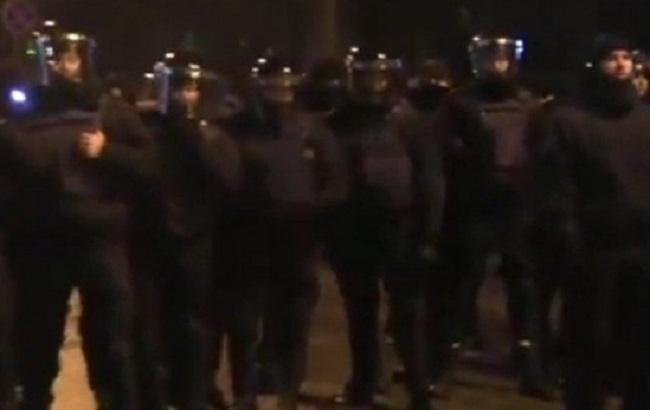 Фото: силовики в центре Киева