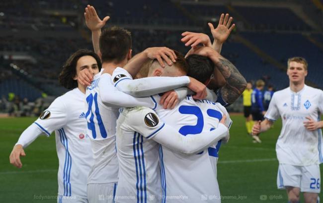 "Фото: ""Лацио"" - ""Динамо"" (fcdynamo.kiev.ua)"