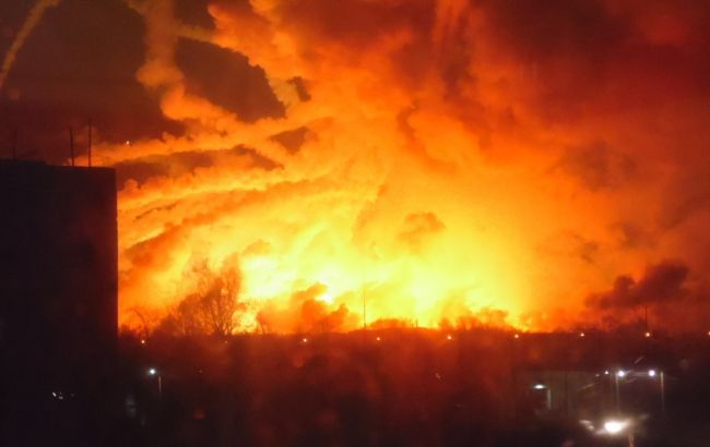 Взрыв в Балаклее: подробности
