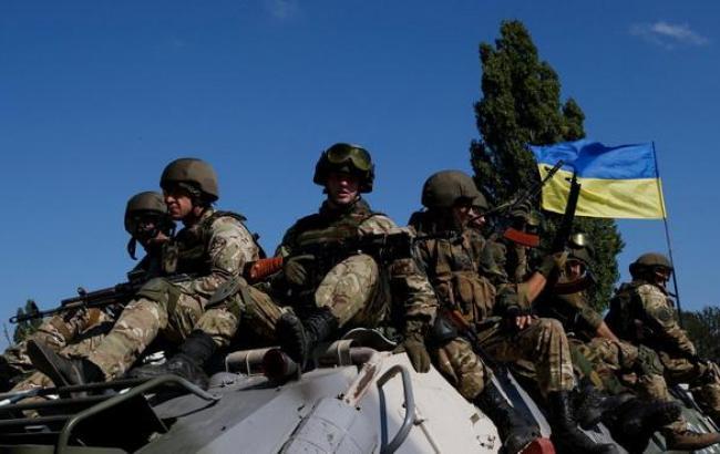В зоне АТО за сутки ранены 10 украинских военных, погибших нет, - СНБО