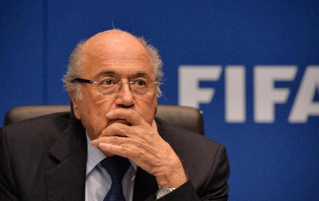 Завтра може бути прийнято рішення про відсторонення від посади Президента ФІФА Блаттера