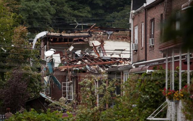 Взрыв вметамфетаминовой лаборатории разрушил жилой дом вНью-Йорке