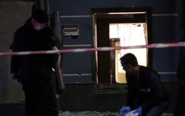 В центрі Києва вночі пролунав вибух, пошкоджені будівлі