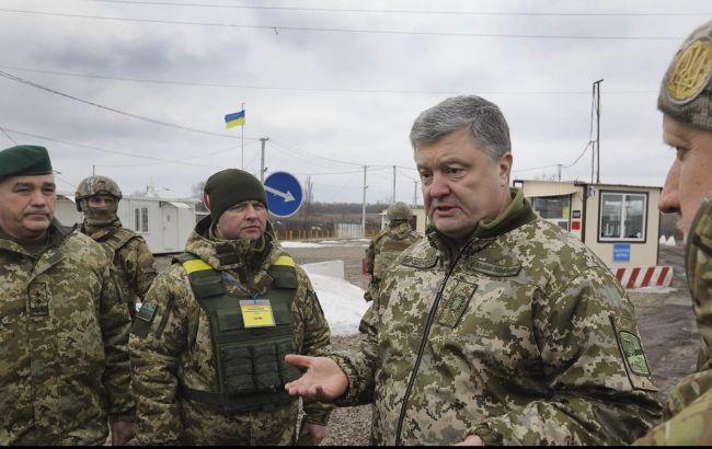Фото: Петр Порошенко посетил Донбасс (facebook.com/svyatoslav.tsegolko)
