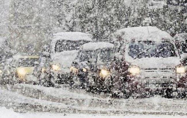 Фото: непогода в Украине (facebook.com/ukrgmc.official)