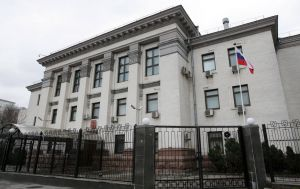Украина в ответ высылает старшего дипломата посольства РФ
