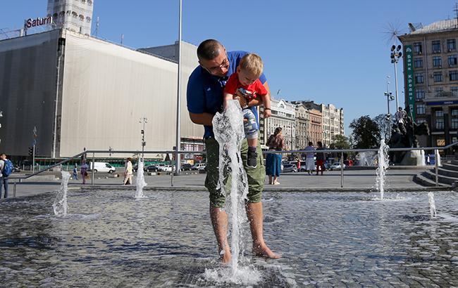 ВУкраїні внайближчі дні буде спекотно і без дощів