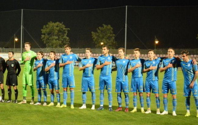 В юношеской сборной Украины по футболу выявили COVID: отменили два матча