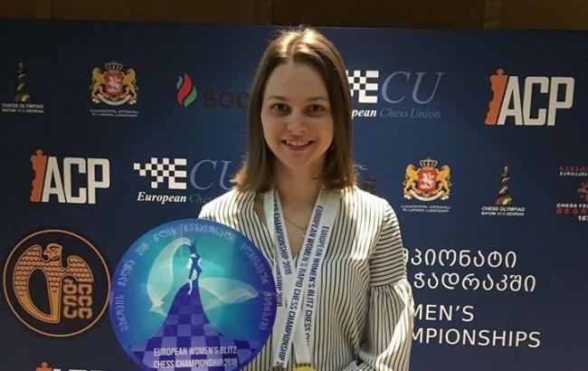Українська шахістка Музичук стала чемпіонкою Європи з бліцу