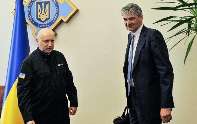 Британия готова сотрудничать с Украиной в секторе безопасности и обороны, - СНБО