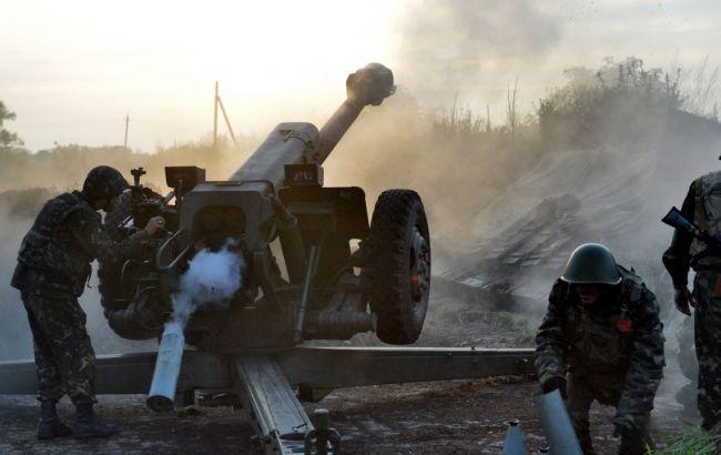 Фото: артиллерия боевиков на Донбассе