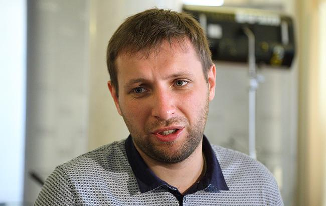Напротесте подВР Парасюк подрался сначальником УГО Гелетеем: опубликованное видео