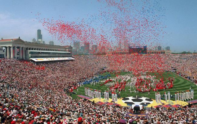 Фото: Церемония открытия чемпионата мира 1994 года в США