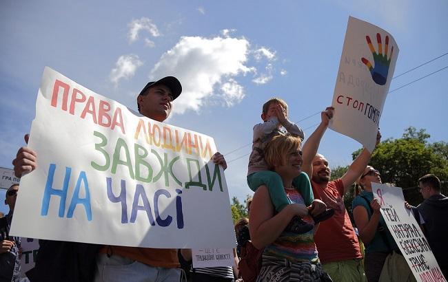 В ООН обеспокоены отношением к представителям сексуальных меньшинств в Украине
