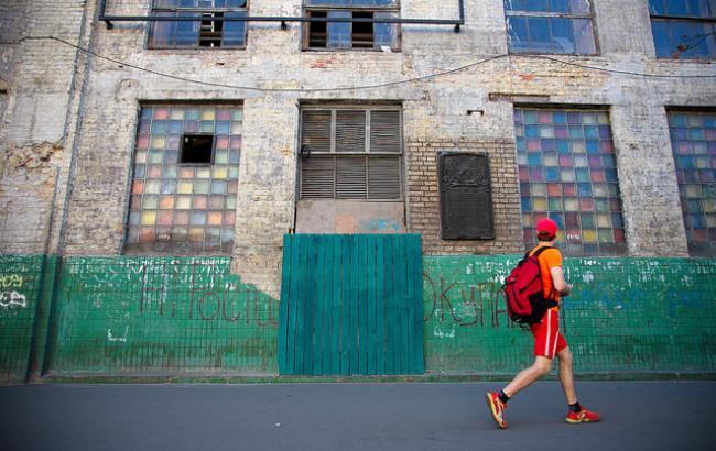 Фото: Многие исторические дома в Киеве - заброшенные или разрушенные (РБК-Украина)