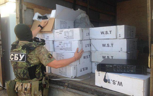 Фото: СБУ за вересень затримала нелегальних вантажів майже на 4 млн гривень