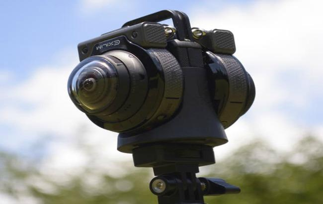 Фото: представлена камера для съемок 360-градусного видео