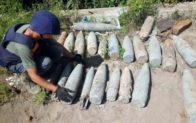 Фото: только за минувшие сутки в Украине выявили более 200 боеприпасов и 2 авиабомбы