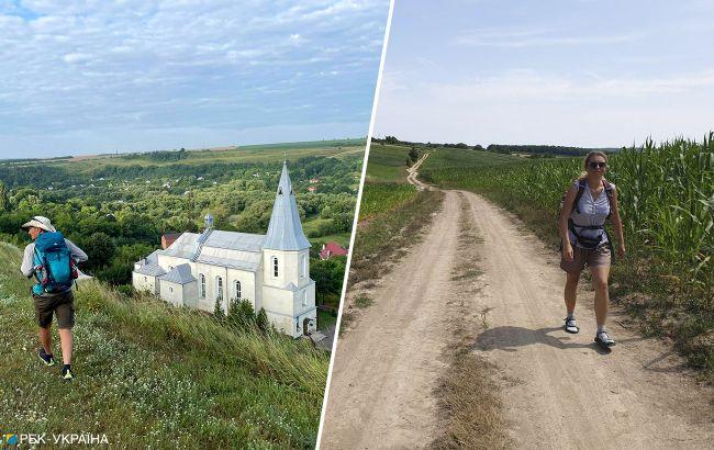 Живописные тропы и усадьбы: как выглядит первый в Украине пешеходный маршрут, созданный по примеру Испании