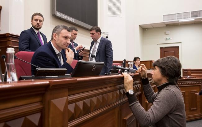 Кличко отчитался о работе киевской власти в 2017 году