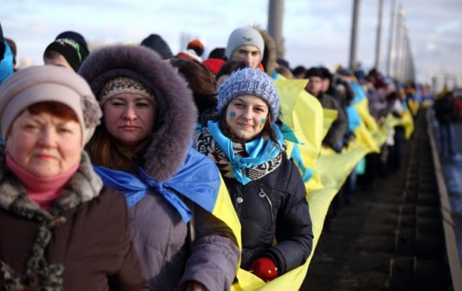 В Україні сьогодні відзначають День Соборності