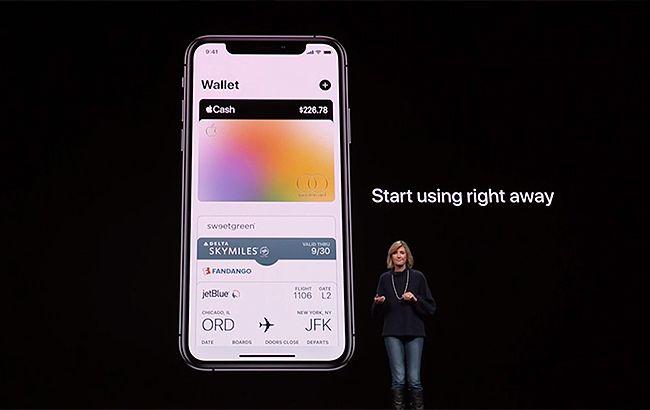 Apple представила власний платіжний сервіс