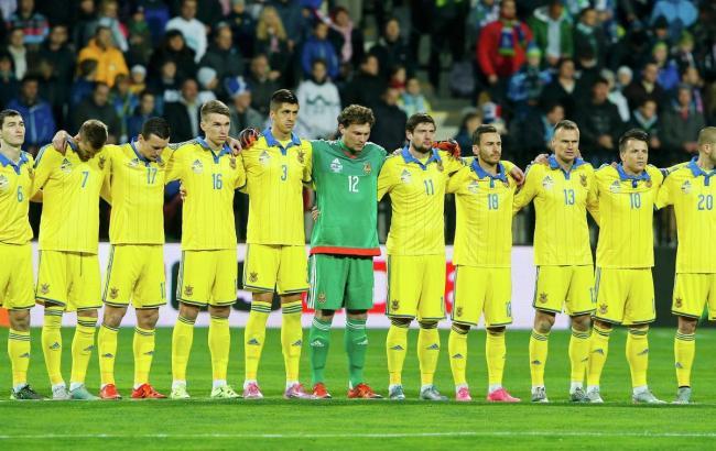 Збірна України залишилася на 30 місці в рейтингу ФІФА