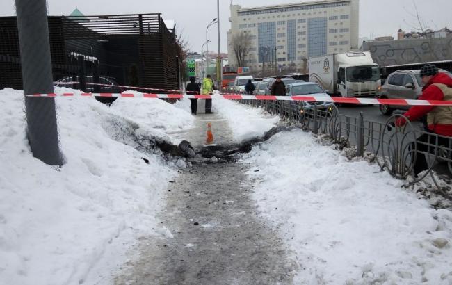 Фото: вибух у Києві