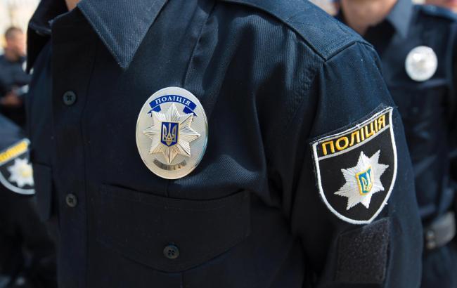 Фото: полиция следит за порядком в годовщину расстрела Майдана
