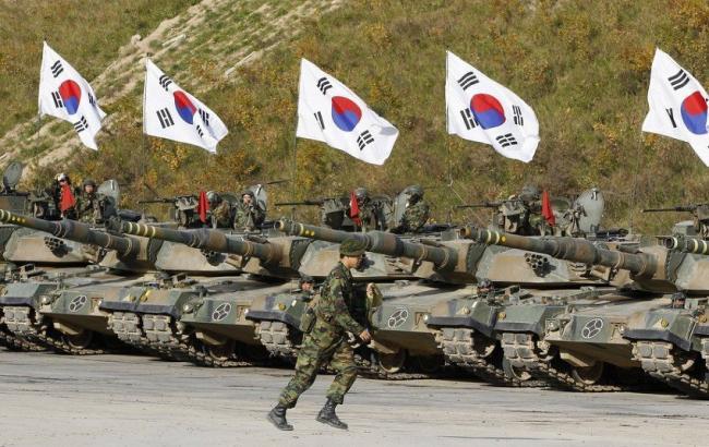 Фото: Южная Корея усилила боевую готовность