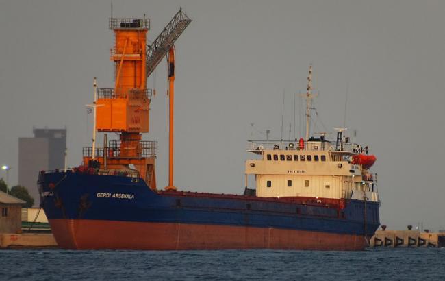 Русский сухогруз потерпел крушение вЧерном море