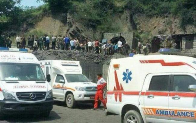 Кількість загиблих в результаті вибуху на шахті в Ірані зросла до 42