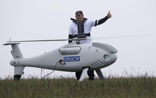 Фото: беспилотник СММ ОБСЕ