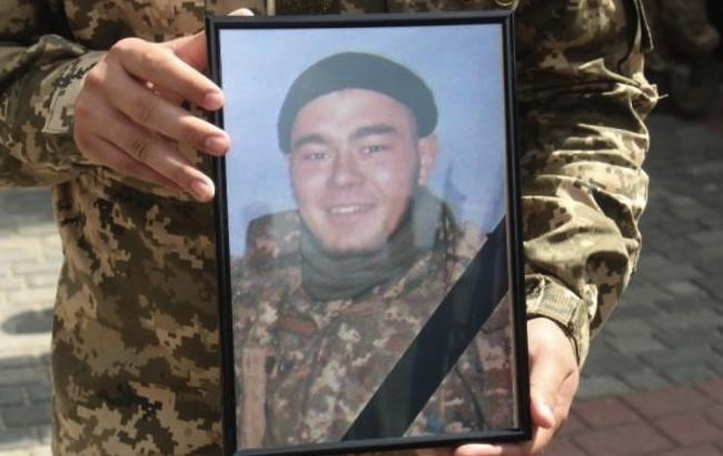 В Луцке попрощались с умершим от рака бойцом АТО