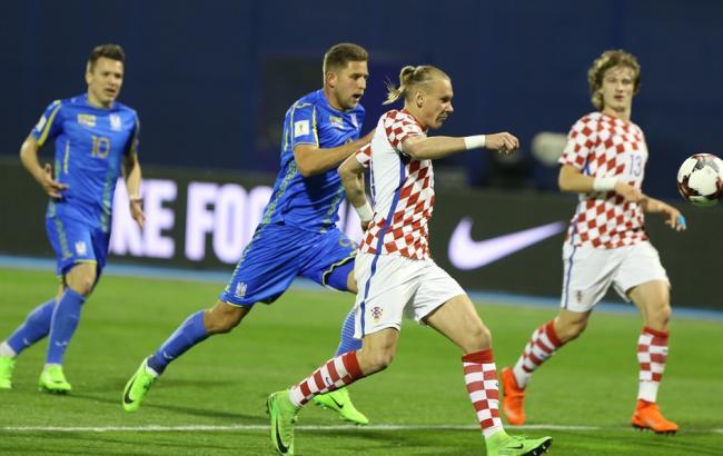 Фото: Украина - Хорватия (ffu.org.ua)