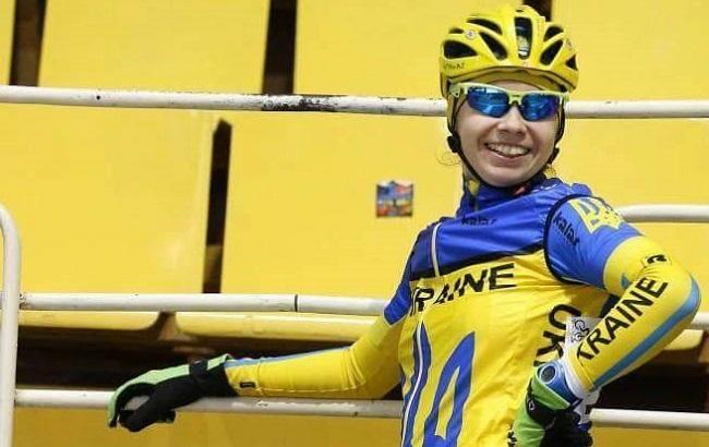 Українка Клімченко здобула срібну медаль чемпіонату Європи з велоспорту