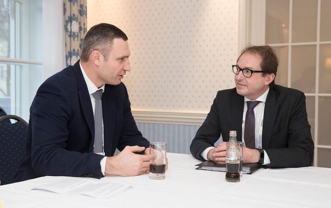 Кличко: Германия для Украины является важным партнером