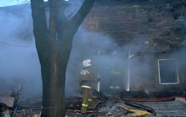 В Одессе на пожаре жилого дома погибли 2 человека