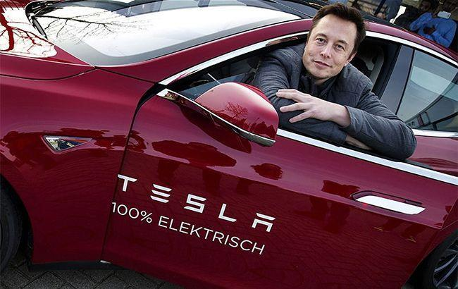 Илон Маск выкупил акции собственной компании Tesla на9,9 млн долларов