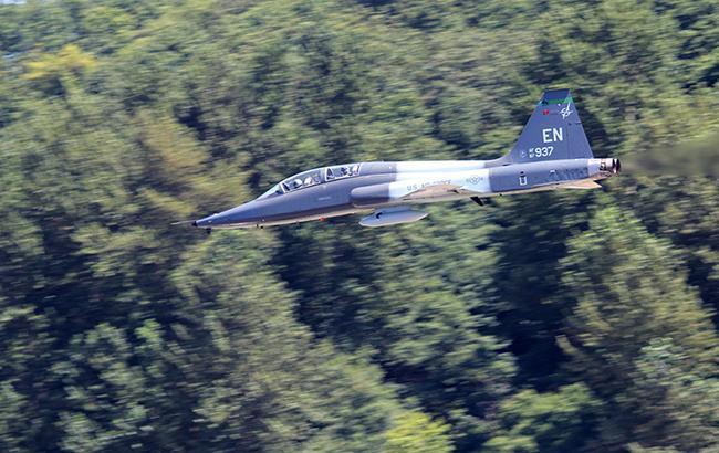 Истребитель ВВС США потерпел крушение в Японии