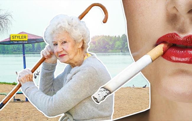 В Киеве на пляже пенсионерки устроили драку с подростками (видео)