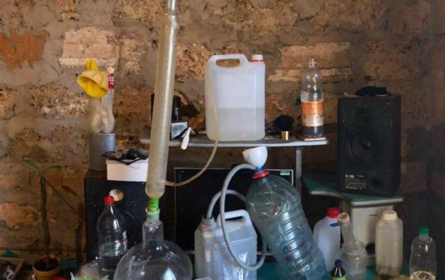 В Киевской области разоблачили нарколабораторию по изготовлению амфетамина